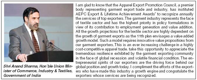 AEPC organizes the Export Awards Function