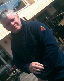 Managing director Stanley Russell models the Aclimatise® fleece