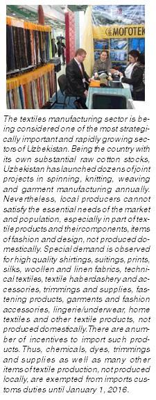 TEXPROCIL at Textile Expo Uzbekistan 2011