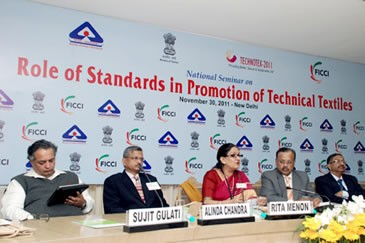 """FICCI Seminar on """"Role of Standards in Promotion of Technical Textiles"""""""
