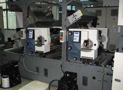 stork printing machine
