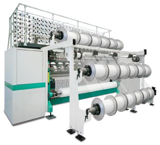 Karl Mayer ML 34 / ML 46 / ML 41 Multibar Raschel machine