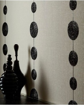 Abacus Embroider Wallcovering