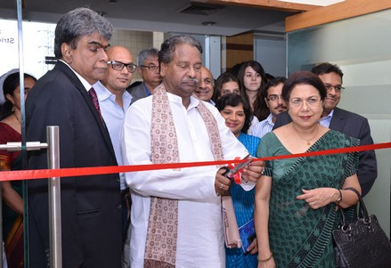 The Union Textiles Minister inaugurating 'KRITIKA', at the ATDC Skill Conclave at Gurgaon, Haryana on July 30, 2013. The Secretary, Ministry of Textiles, Smt. Zohra Chatterji and other dignitaries are also seen.