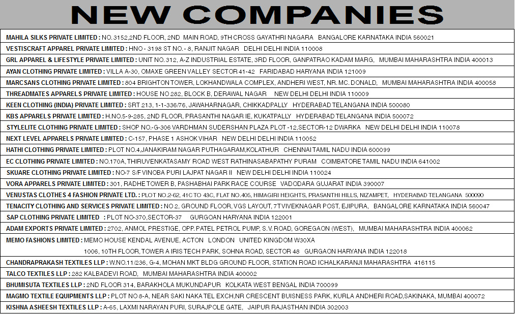 New Companies April 2015 page 2