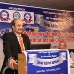 """Conference On """"Technology Options for Sustainable Growth of Indian Chemical Industry"""" held by UDCT Alumni Association (UAA) in Ahmedabad"""