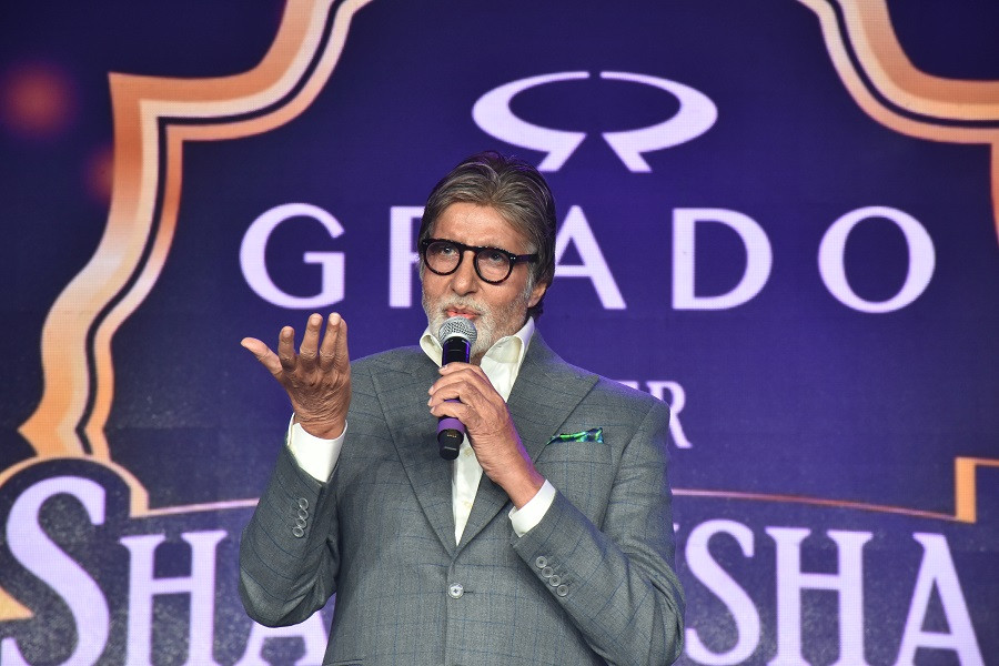 GRADO Brand Ambassador Amitabh Bachchan at GRADO Super Shahenshah Meet