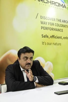Mr Anjani Prasad Managing Director, Archroma India