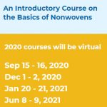 INDA's Professional Development – An Introductory Course on the Basics of Nonwovens (Virtual)