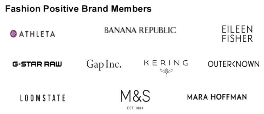 Fashion Positive Brand Members