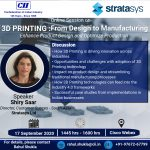 "CII Online Session on ""3D Printing: From Design to Manufacturing"""