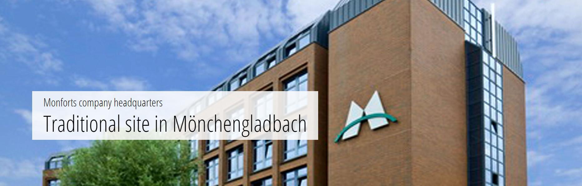 The Monforts Advanced Technology Center (ATC) in Mönchengladbach