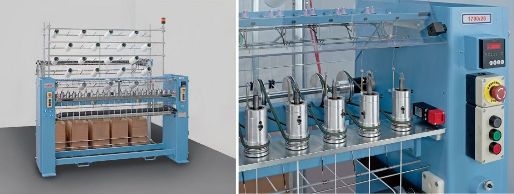 High Speed Circular Knitting Machine For Chainette 1