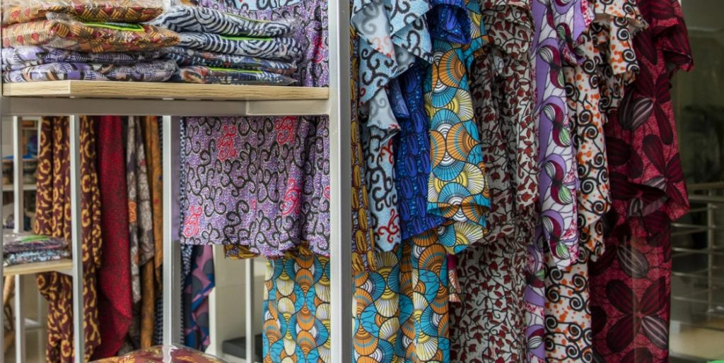 The Garment Factory offers fabric and ready to wear garments in ankara and adire prints