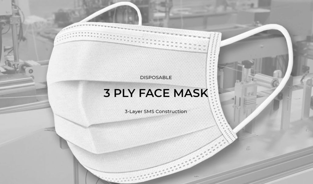 3-Ply Disposable Face Masks2