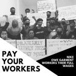 Global campaign confronts H&M, Primark, and Nike with unpaid workers' voices