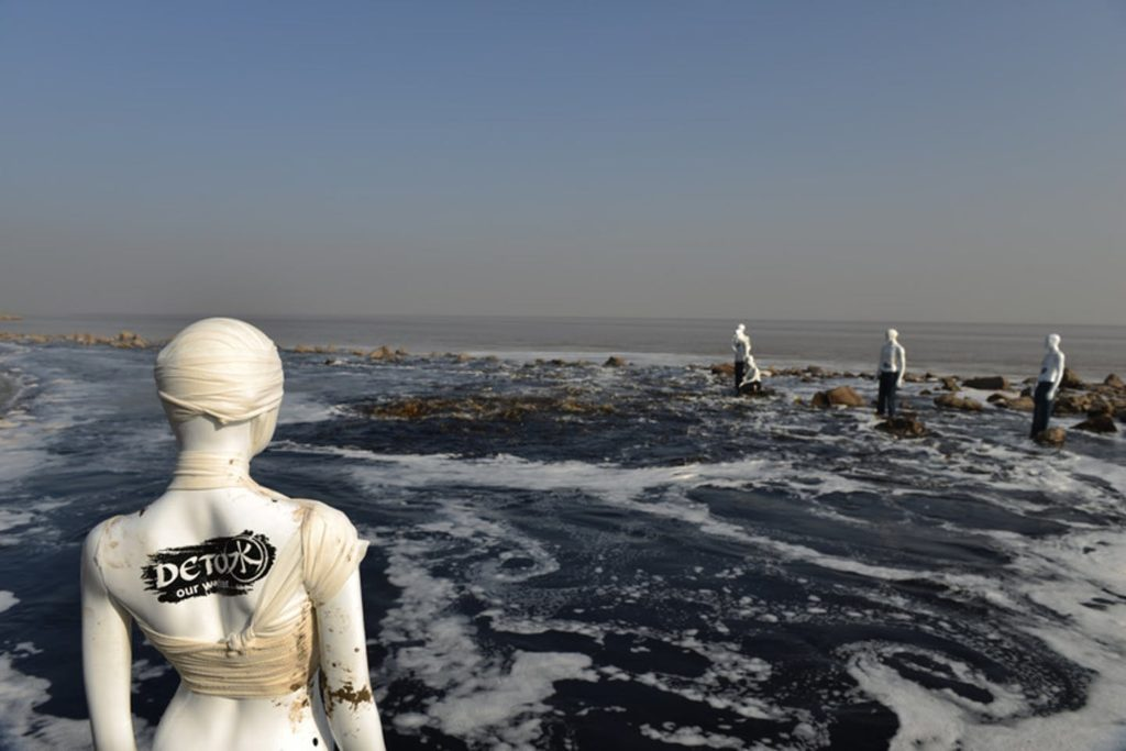 Detox mannequins in Zhejiang Province China