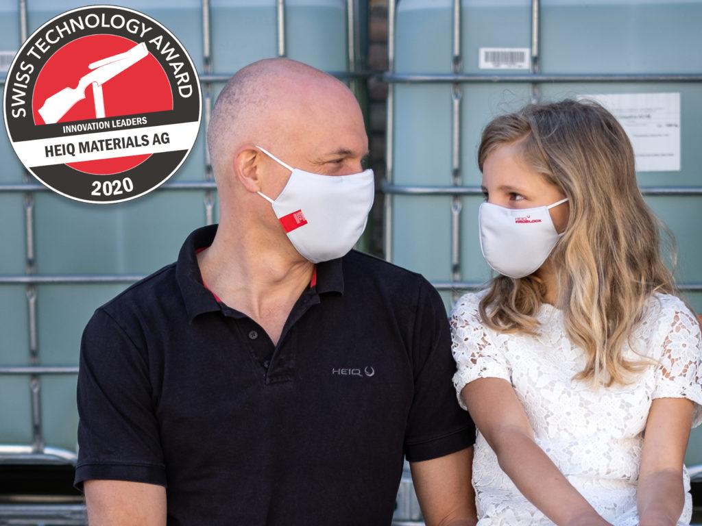 HeiQ Viroblock NPJ03 is an intelligent Swiss textile technology