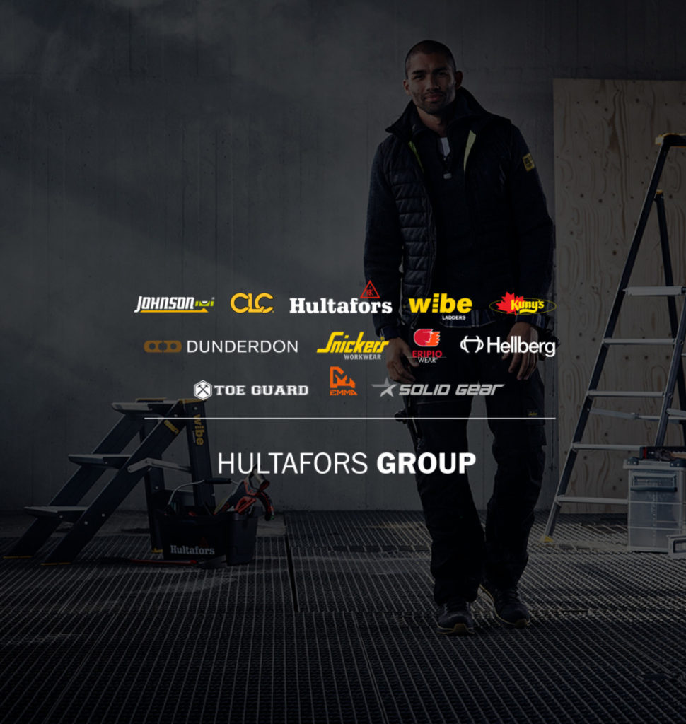 Hultafors Group offers a portfolio of leading brands that keep professional users at the forefront