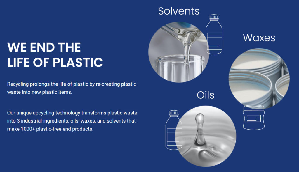 Recycling prolongs the life of plastic by re-creating plastic waste into new plastic items