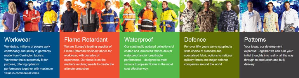 largest producer of workwear fabrics in the UK