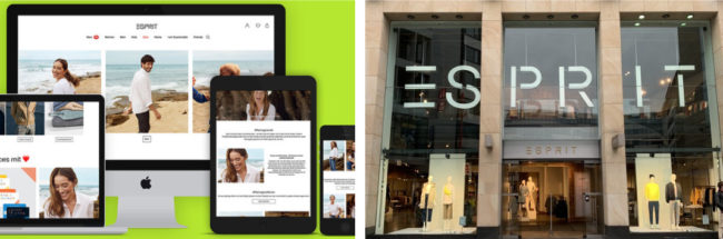 Esprit was founded in California by couple Susie and Doug Tompkins in 1968