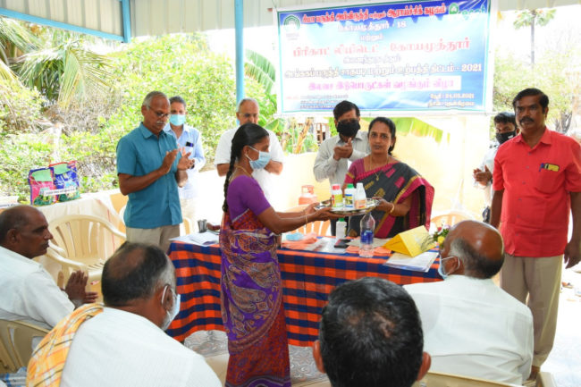 SIMA launches ELS organic cotton contract farming pilot project in Tamilnadu