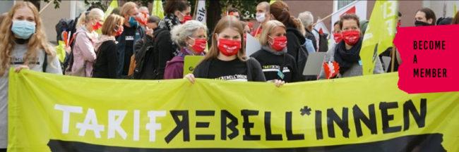 The Verdi Union- Tariff Rebellion Continues in Germany!