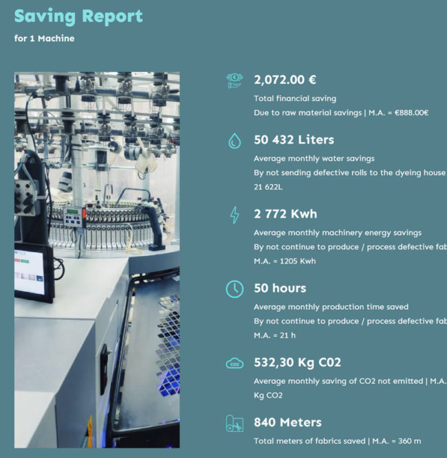 Saving Report for one machine