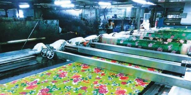 printing of textiles