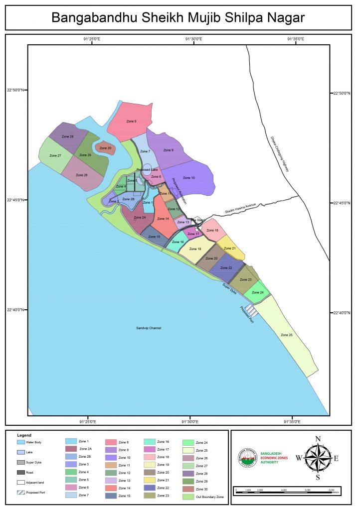 Bangabandhu Sheikh Mujib Industrial City Master Plan