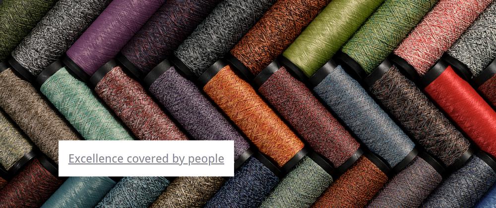 ColorMind Unique yarn design