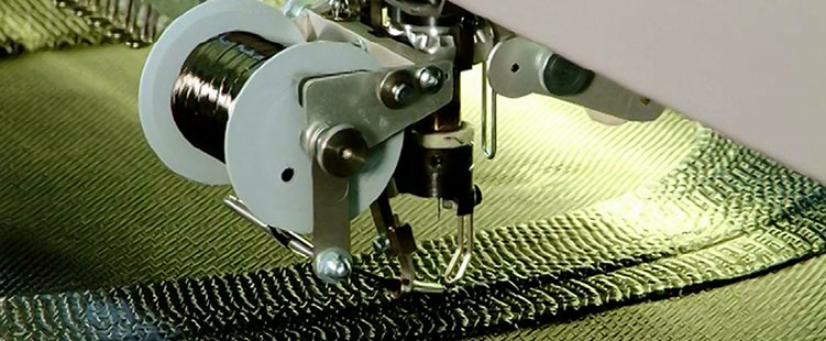 Tailored Fiber Placement - Carbon laying