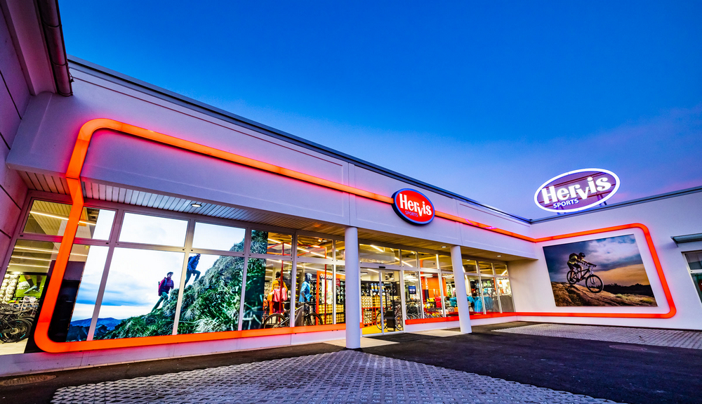 hervis new store