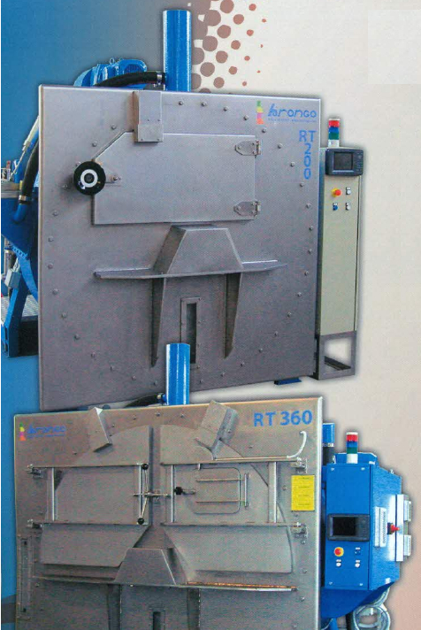 rotary dyeing machine for garments