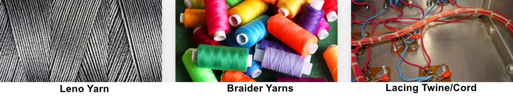 leno-braider-lacing yarns