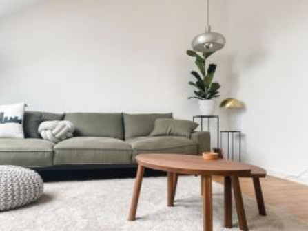 Various types of flexible furniture pieces