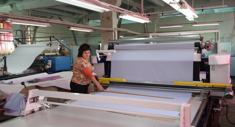 the sewing enterprise CJSC Alexandria