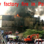 Deadly fire in factory producing bags in Pakistan