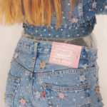 High fashion brands Miu Miu and Levi's jointly present an upcycled denim collection!