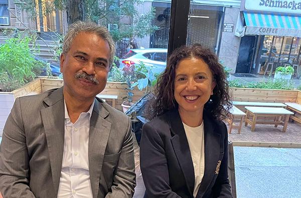 BGMEA President with Halide Alagöz